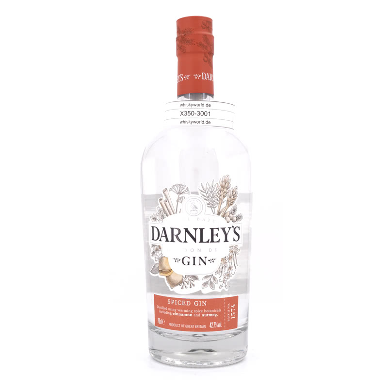 Darnley´s Spiced Gin Small Batch London Dry 0,70 L/ 42.70% - broschei