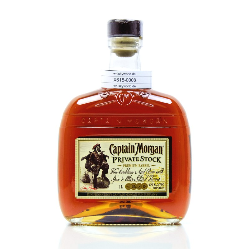 Captain Morgan Private Stock Literflasche 1 L/ 40.00%