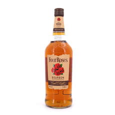 Four Roses Kentucky Straigth Bourbon Whiskey   Literflasche Produktbild