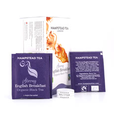 Hampstead Tea BIO Organic Strong English Breakfast 20 Teebeutel Produktbild