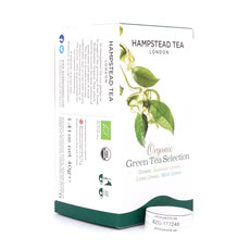 Hampstead Tea BIO Organic Green Tea Selection 20 Teebeutel Produktbild