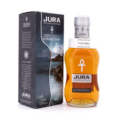 Isle of Jura Superstition lightly Peated Kleinflasche Produktbild