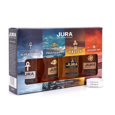 Isle of Jura The Collection II Miniaturen 4 x 0,05l 10 & 16 Jahre je 40%Vol. Superstition 43%Vol & Prophey 46%Vol. Produktbild
