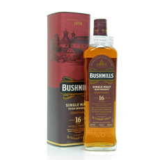 Bushmills 16 Jahre Single Malt Three Woods Produktbild