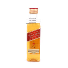 Johnnie Walker Red Label Miniatur PET-Flasche Produktbild