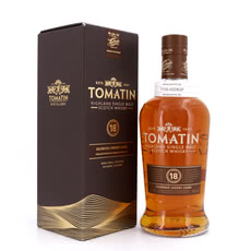 Tomatin 18 Jahre finish in Oloroso Sherry Butts  Produktbild