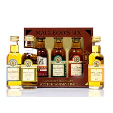 Ian Macleod Scotch Whisky Trail Miniaturen (6 x 0,05l) 4 Stück Single Malt, 1 Stück Single Grain, 1 Stück Blended 8 Jahre Produktbild