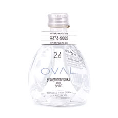 Oval 24 Spirit Structured Vodka Miniatur Produktbild