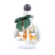 Chopin Christmas Vodka Green Kugelform Produktbild