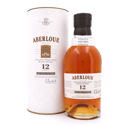 Aberlour 12 Jahre Non Chill-Filtered  0,70 Liter/ 48.00% Vol