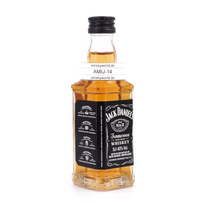 Jack Daniels Old No.7 Miniatur 0,050 Liter/ 40.00% Vol