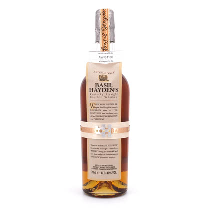 Basil Hayden's Kentucky Straight Bourbon Whiskey  0,70 Liter/ 40.00% Vol