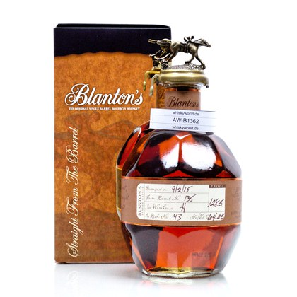 Blanton`s Straigth from the Barrel  0,70 Liter/ 64.25% Vol