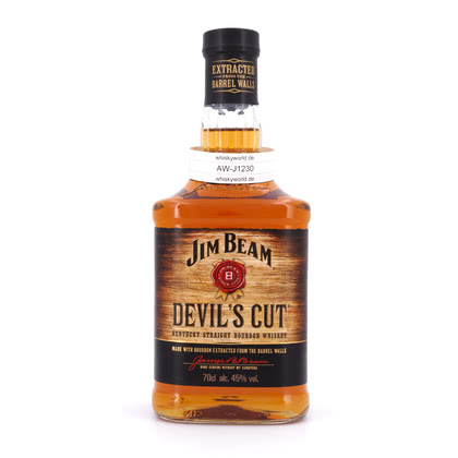 Jim Beam Devil`s Cut  45.00% 0,70l Produktbild