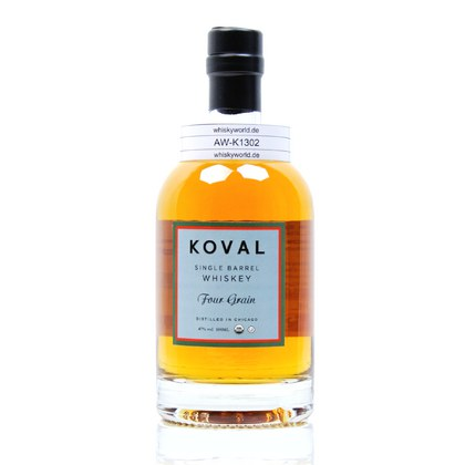 Koval Four Grain Single Barrel Whiskey 47.00% 0,50l Produktbild