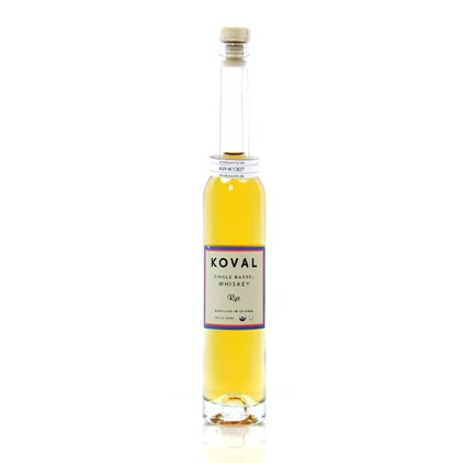 Koval Single Barrel Rye Whiskey Midi 40.00% 0,10l Produktbild