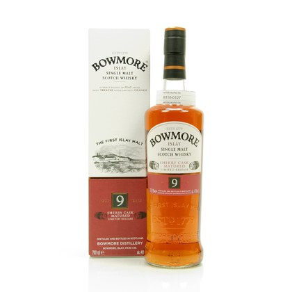 Bowmore 9 Jahre Sherry Casks  0,70 Liter/ 40.00% Vol