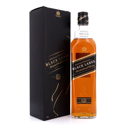 Johnnie Walker 12 Jahre Black Label 40.00% 0,70l Produktbild