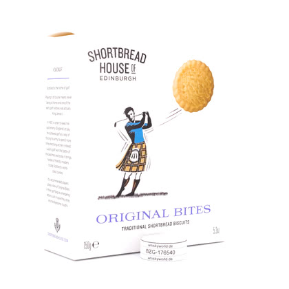 Shortbread House of Edinburgh Shortbread Kekse Original Bites  150Gramm Produktbild