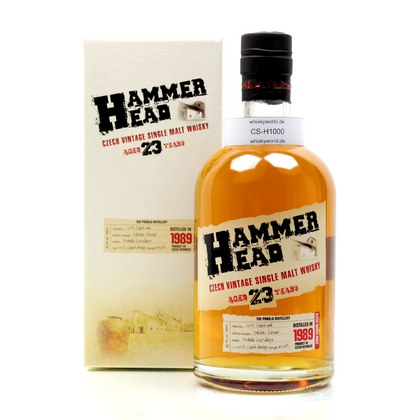 Hammer Head 23 Jahre Single Malt Cask strength 40.70% 0,70l Produktbild