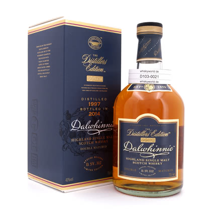 Dalwhinnie Distillers Edition Oloroso Cask finish Jahrgang 1997 0,70 Liter/ 43.00% Vol