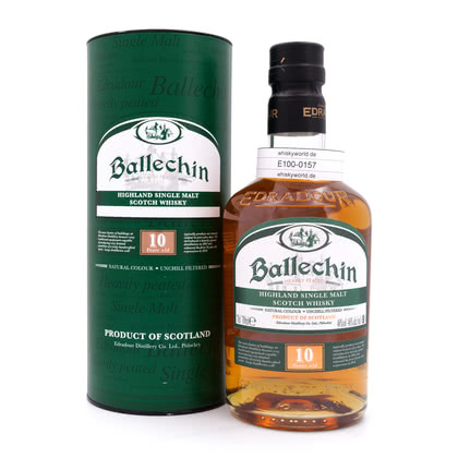 Edradour Ballechin 10 Jahre Heavily Peated 0,70 Liter/ 46.00% Vol