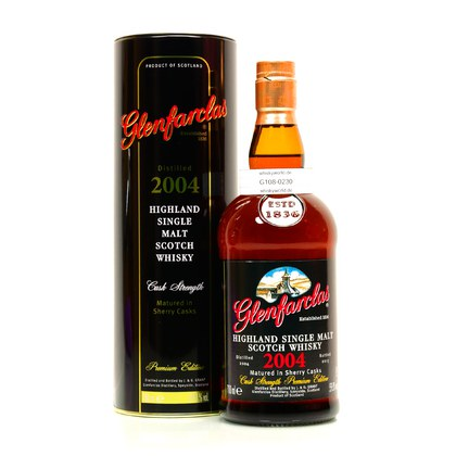 Glenfarclas Sherry Casks Jahrgang 2004 Cask Strength 0,70 Liter/ 59.80% Vol