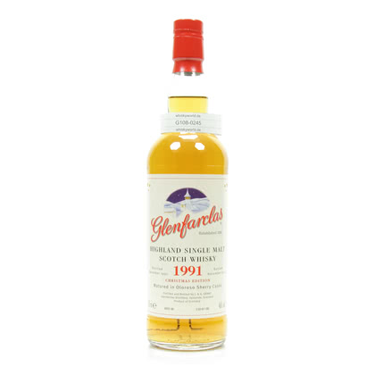 Glenfarclas Christmas Malt Jahrgang 1991 Matured in Oloroso Sherry Casks 46.00% 0,70l Produktbild