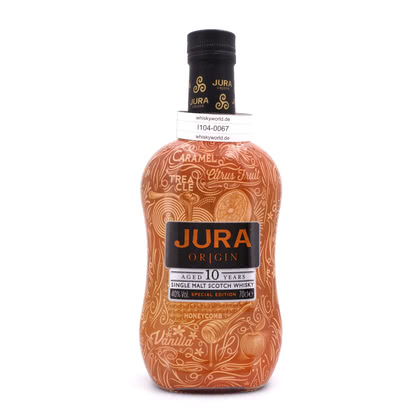 Isle of Jura 10 Jahre Origin Tattoo Edition 40.00% 0,70l Produktbild