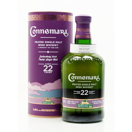 Connemara 22 Jahre Peated Single Malt 46.00% 0,70l Produktbild