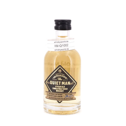 The Quiet Man 8 Jahre Single Malt Miniatur 40.00% 0,050l Produktbild