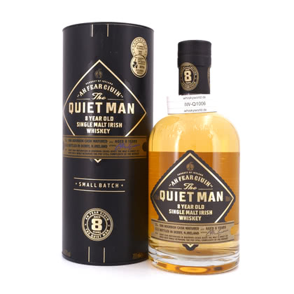 The Quiet Man 8 Jahre Single Malt 40.00% 0,70l Produktbild