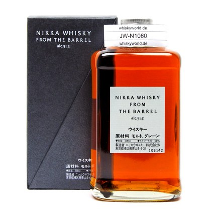 Nikka From the Barrel Cask strength Double matured 51.40% 0,50l Produktbild