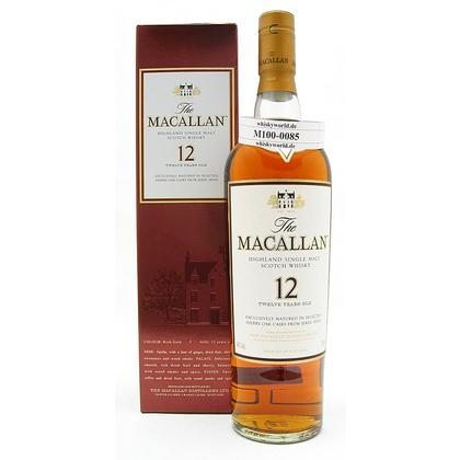 Macallan 12 Jahre Sherry Cask  0,70 Liter/ 40.00% Vol