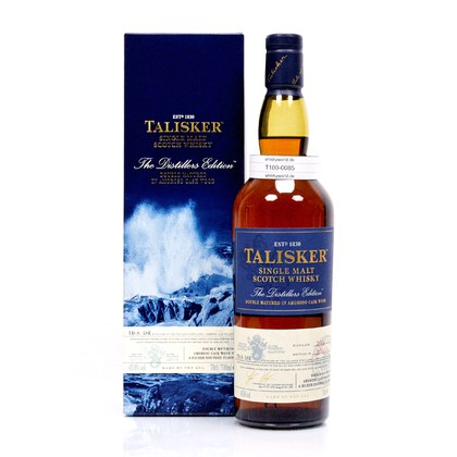 Talisker Distillers Edition Amoroso Cask Wood finish Jahrgang 2006 0,70 Liter/ 45.80% Vol
