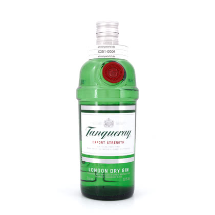 Tanqueray London Dry Gin Export Strength 0,70 Liter/ 43.10% Vol