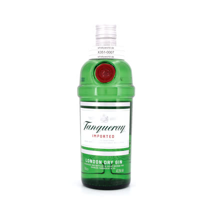 Tanqueray London Dry Gin Imported 47.30% 0,70l Produktbild
