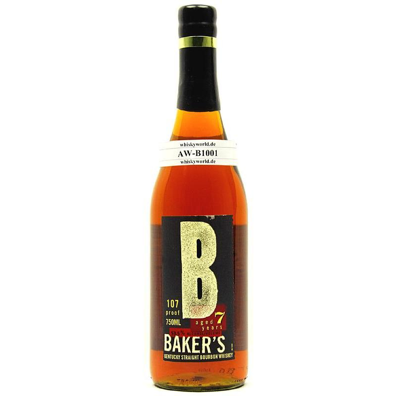 Bakers 7 Jahre Kentucky Straigth Bourbon Whiskey 0,70 L/ 53.50%´