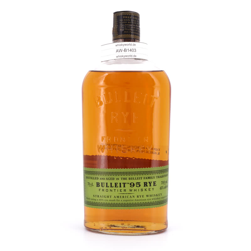 Bulleit Frontier Rye Whiskey Small Batch 0,70 L/ 45.00%