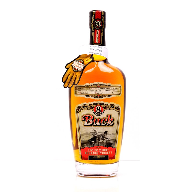 Buck 8 Jahre Hand Crafted 0,70 L/ 45.00%