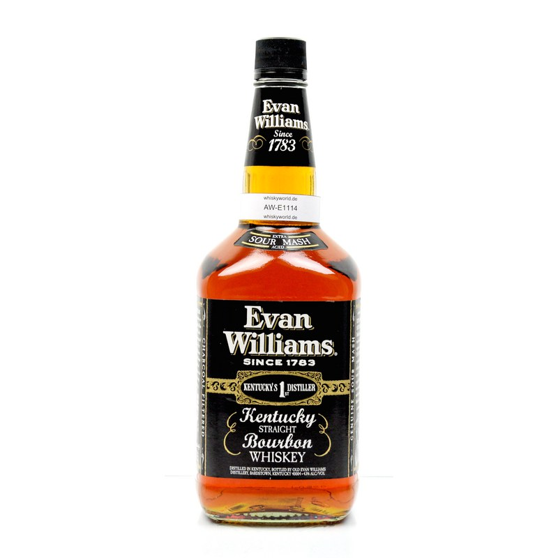 Evan Williams Black Label 1,75 l Großflasche 1,750 L/ 43.00%
