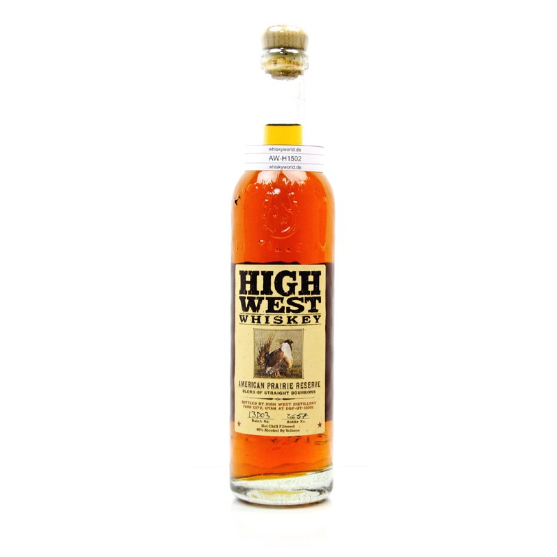 High West American Prairie Reserve Blend Of Straight Bourbons 0,70 L/ 46.00%