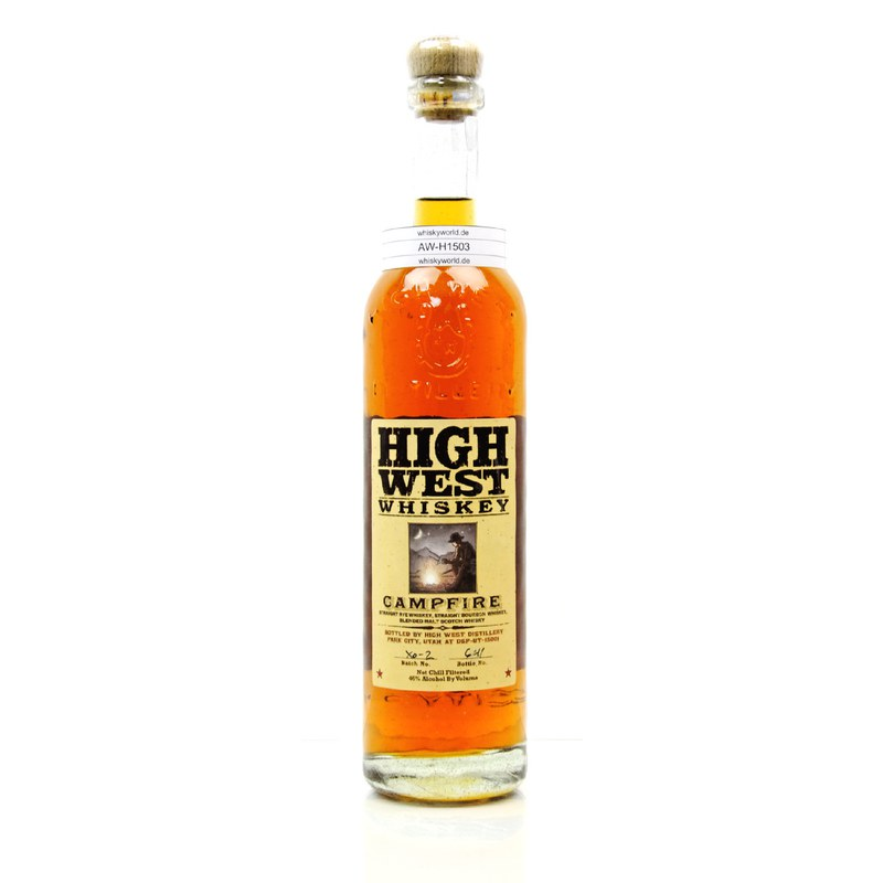 High West Campfire Straight Rye, Bourbon, Blended Malt 0,70 L/ 46.00%