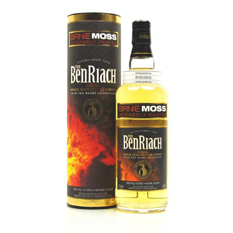 Benriach Birnie Moss Intensely Paeted 0,70 L/ 48.00%
