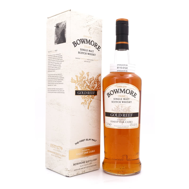 Bowmore Gold Reef Literflasche 1 L/ 43.00%