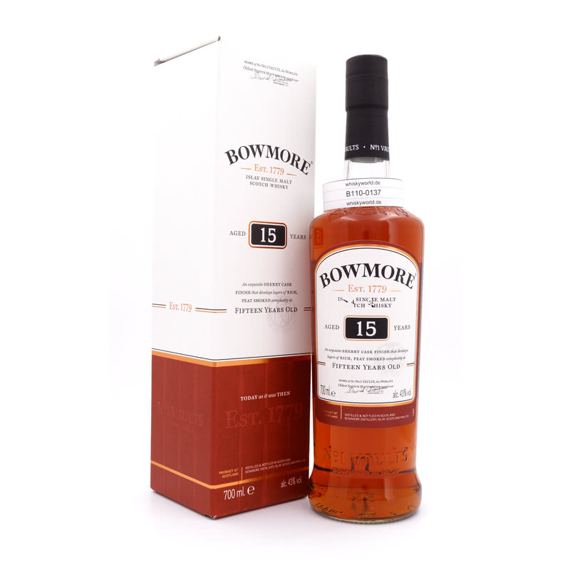 15 Jahre Sherry Cask Finish 0,70 L/ 43.00%