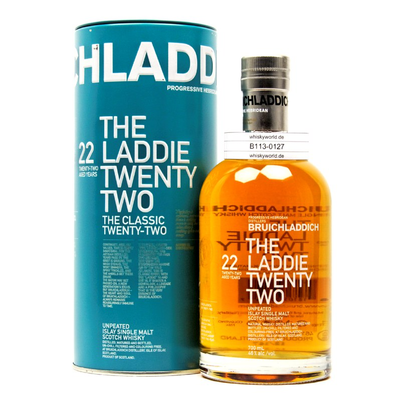 Bruichladdich The Laddie Twenty-Two 0,70 L/ 46.00%
