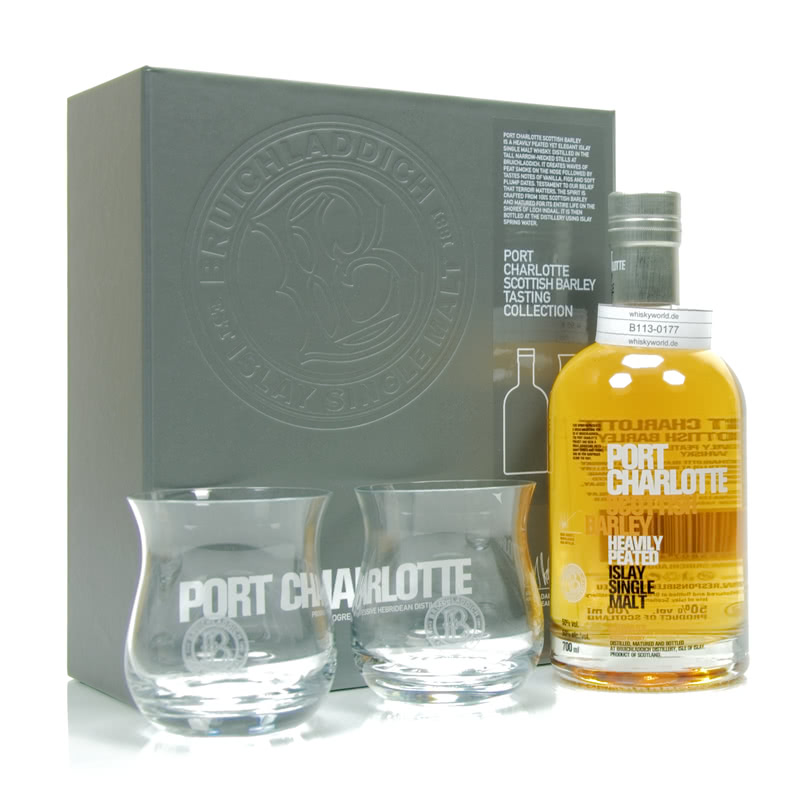 Port Charlotte Scottish Barley Heavily Peated 0,70 L/ 50.00%