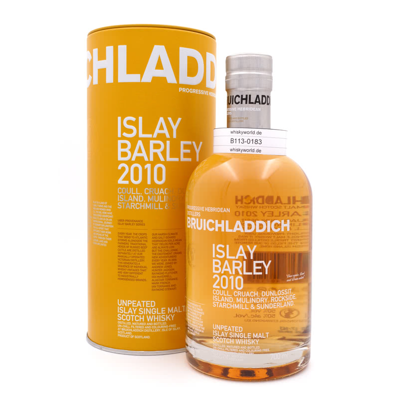 Bruichladdich 2010 Islay Barley Unpeated 0,70 L/ 50.00%