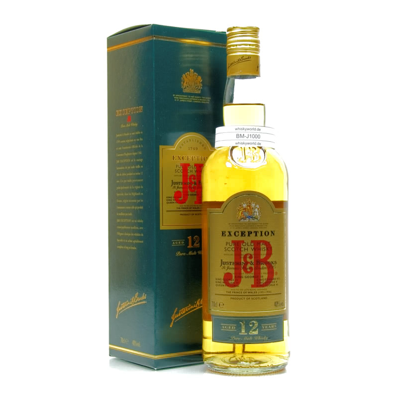 J&B Exception 12 Jahre Pure Malt 0,70 L/ 40.00%